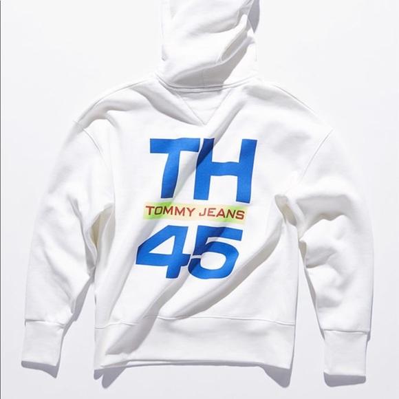 d8ada799 Tommy Hilfiger Shirts | Tommy Jeans Hilfiger 90s Sailing Logo Hoodie ...